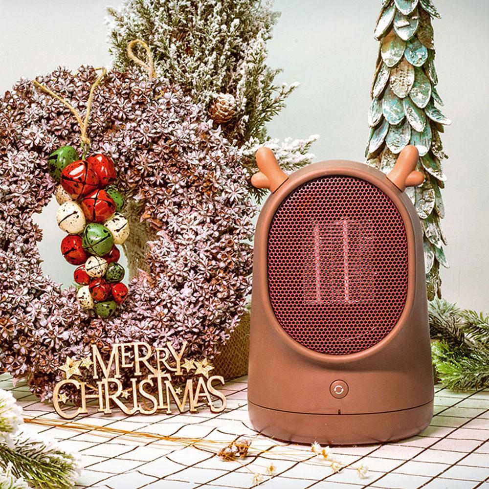 呆呆个人暖风机家用迷你 办公室小型取暖器 家用节能学生宿舍速热