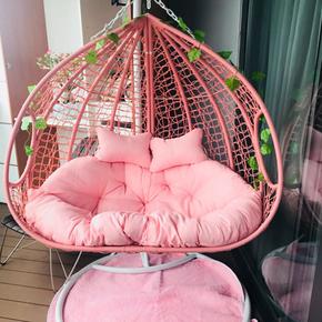 小绵羊新款吊椅吊篮藤椅摇椅户外室内阳台秋千躺摇椅床单成人鸟巢