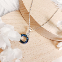 蓝水晶项链
