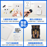 86 type concealed two-wire touch delay switch LED lights property corridor corridor stair touch engineering switch