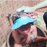 Baby shampoo cap waterproof ear protection child shower cap can be adjusted to increase baby shampoo cap children shower cap
