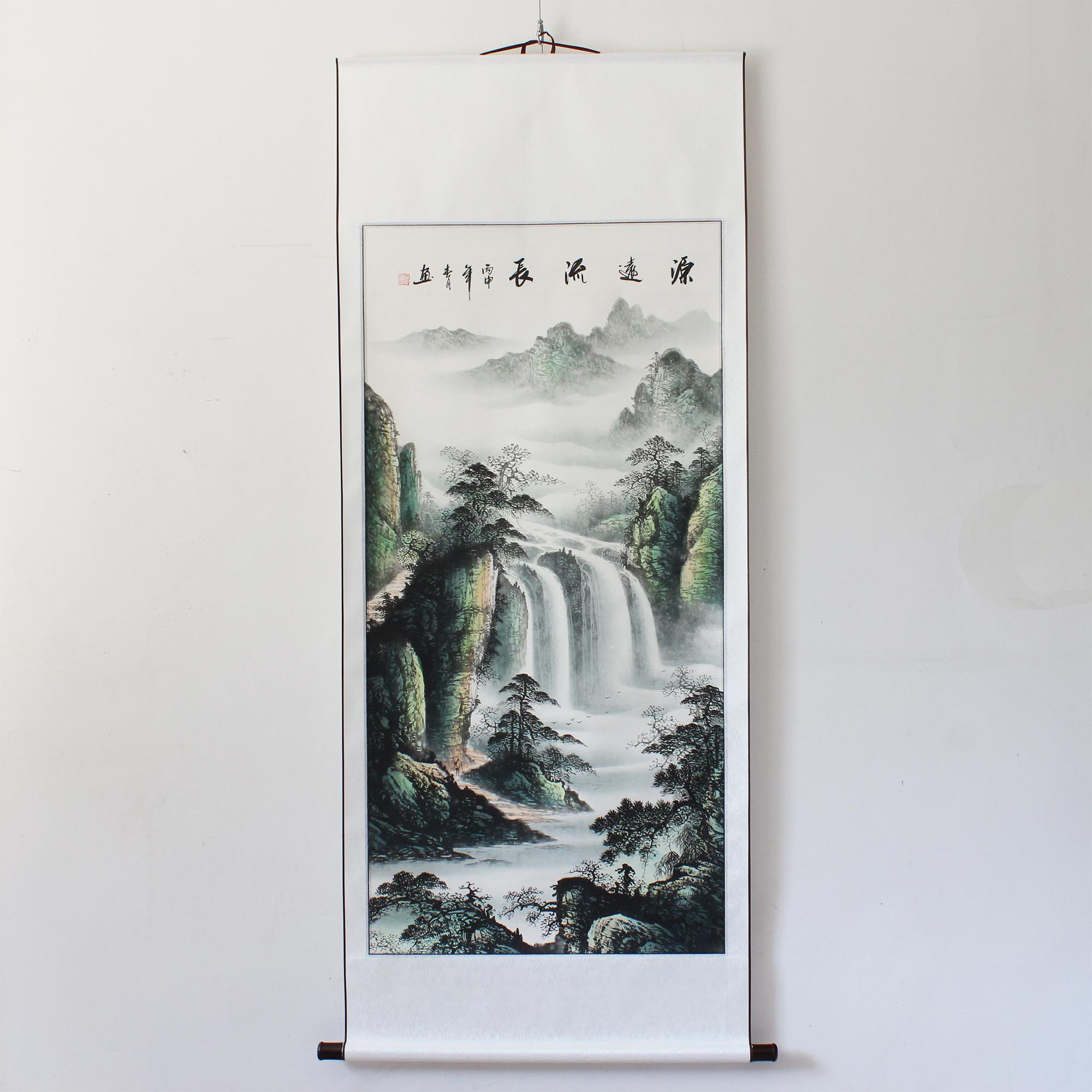 中式客厅装饰字画