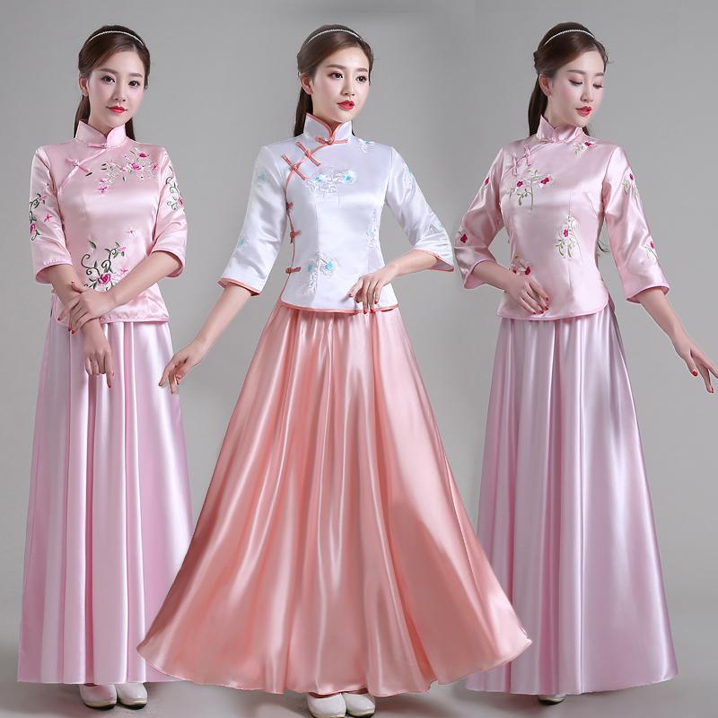 中式旗袍婚禮伴娘