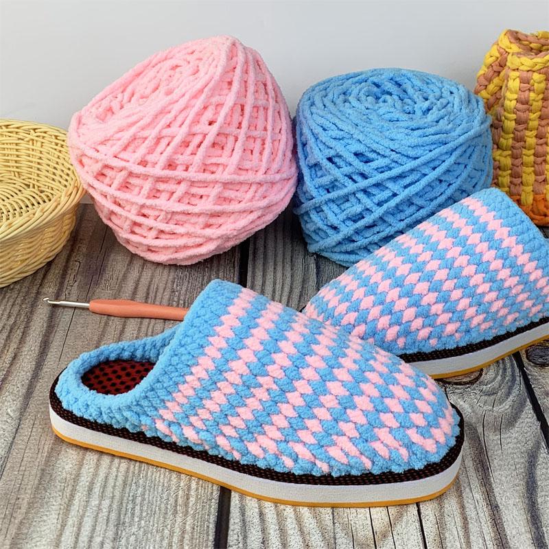 Вязаная и тканевая детская обувь Артикул 532879353423