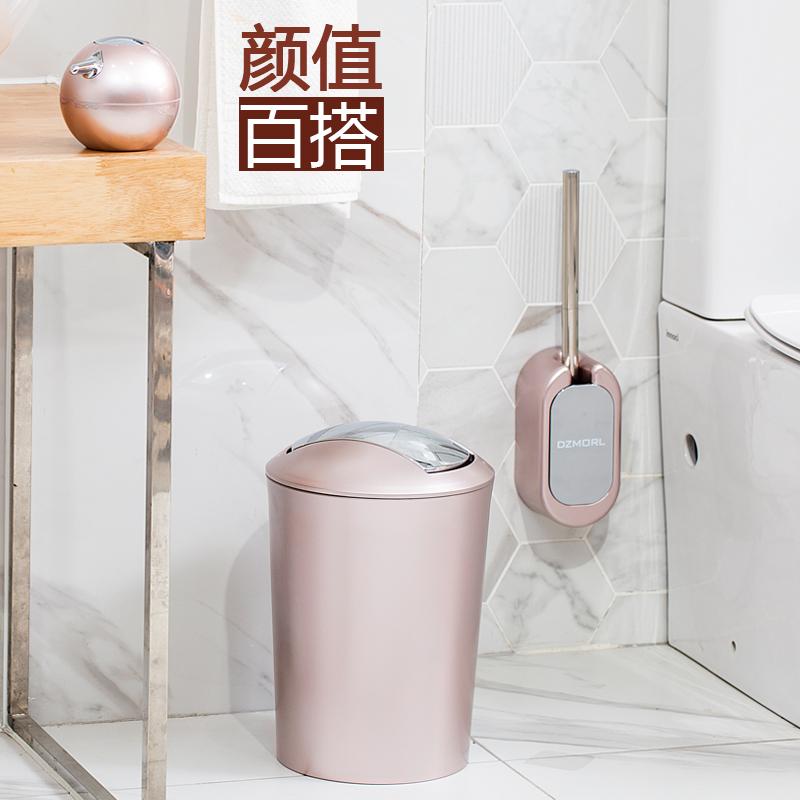 马桶刷挂墙式厕所刷免打孔卫生间洁厕刷长柄去死角壁挂马桶刷套装