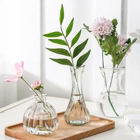 水培创意玻璃花瓶水仙花植物水培容器插花瓶绿萝透明花盆风信子瓶