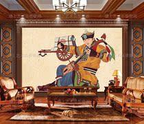 北欧现代抽象几何无缝定制壁画沙发卧室电视背景墙壁纸墙纸墙布3D