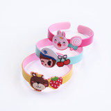 Children's bracelet dance kindergarten cute cartoon summer opening princess bracelet baby girl decorated small gift