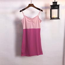 新款 热卖 连衣裙潮 复古修身 吊带裙 晚晚同款