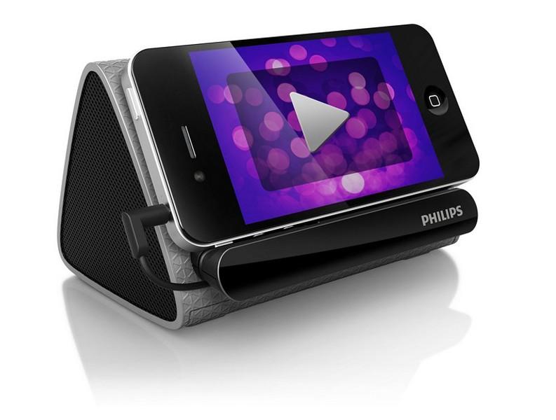 飞利浦SBA1710便携式3.5MM插口手机笔记本电脑MP3播放器扬声器