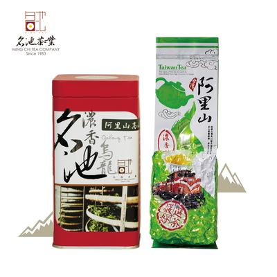 名池茶业阿里山乌龙茶浓香型高山茶台湾特产进口茶叶150g