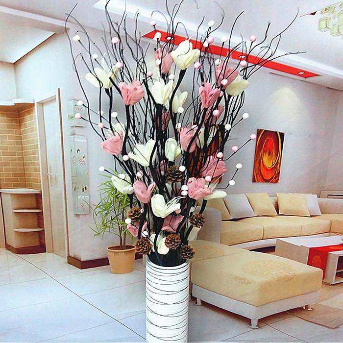 干花客厅装饰花落地大
