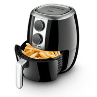 Yamamoto SB-D16 household five generations of air fryer large capacity intelligent no oil fries French fries electric fryer fries