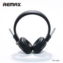 Remax/睿量100H頭戴HIFI兼容ios系統和安卓系統 線控耳機帶麥克風