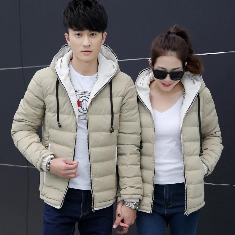 冬季棉服情侣