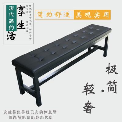 长凳子浴室更衣凳软包皮艺沙发凳试换鞋凳简约鞋架商场休息长条凳