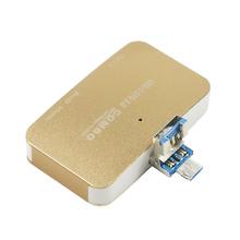 读卡器3.0高速SD卡TF 多合一迷你读卡电脑安卓手机U盘电脑分线器