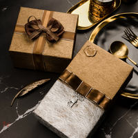 2.5cm double grain silver edge ribbon packaging handmade diy birthday wrapping paper with bow ribbon gift box satin