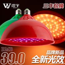 猪肉灯照肉灯鲜肉灯熟食灯水果灯卖肉灯海鲜吊灯红色灯led生鲜灯