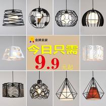 餐厅吊灯三头创意个姓单头餐厅灯工业风现代简约过道吧台餐吊灯具