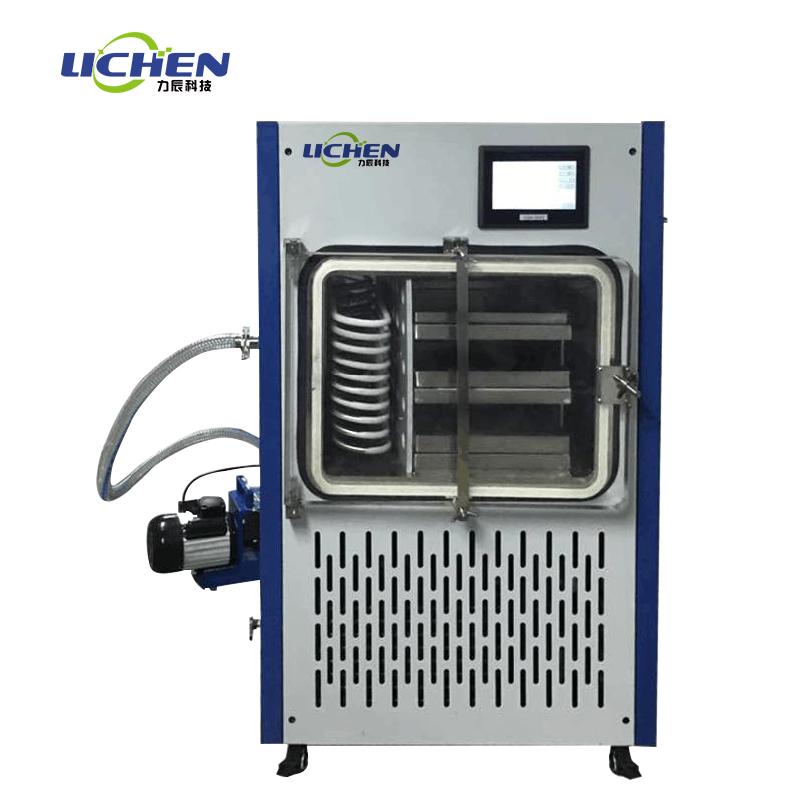 力辰虫草烘干机真空低温冷冻干燥机冻干机燕窝蛇毒米斛胎盘电加热