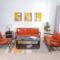 北欧铁艺沙发客厅简约现代茶几桌椅组合时尚家具单双三人沙发卡座