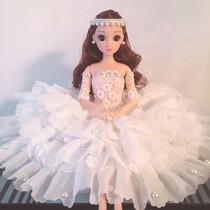 汽车摆件婚纱娃娃高档女创意装饰品车载蕾丝公主可爱汽车内饰