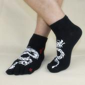 五趾袜 分趾袜点胶骷髅 季男款 头短袜创意全棉 五指袜 男士 春秋夏图片