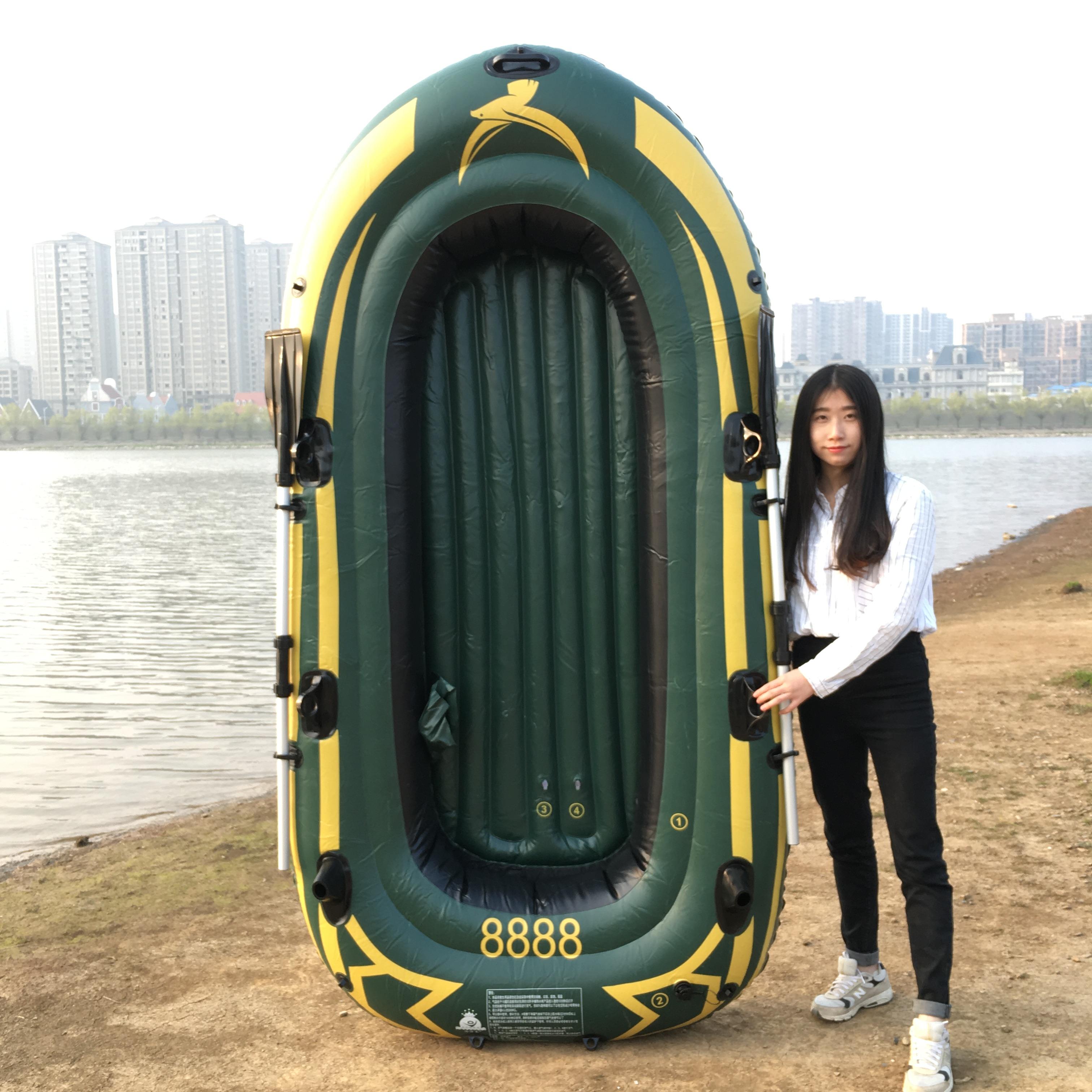 皮筏艇钓鱼船