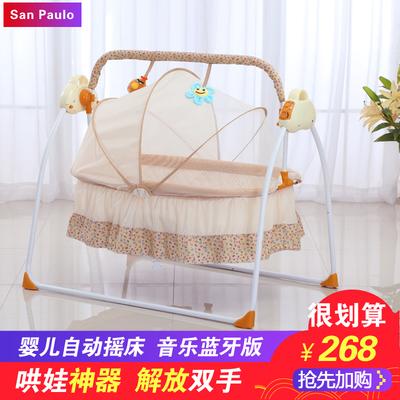 婴儿电动摇床新生儿2018新款