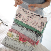 Korea authentic afrocat cute doll transparent travel wash clothes shoes storage bag sorting sorting bag