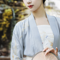 重回汉唐汉服女装蓬莱传统日常民族风刺绣棉吊带配饰周边抹胸春夏