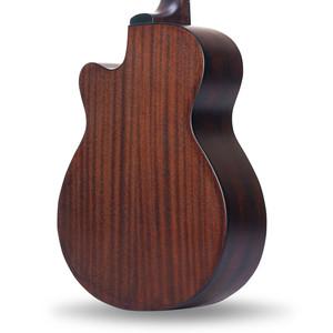 威伯吉他40寸41寸民谣吉他复古木吉他初学者学生男女入门练习吉它