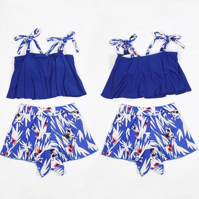 新款比基尼泳装女分体两件套性感温泉裙式三角裤修身韩版气质泳衣