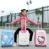 Children's trolley case cartoon suitcase 18 inch caster baby suitcase 16 inch tow box 19 inch custom