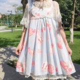 Spot original and fruit rabbit jsk Lolita sleeveless suspender dress Japanese Lolita