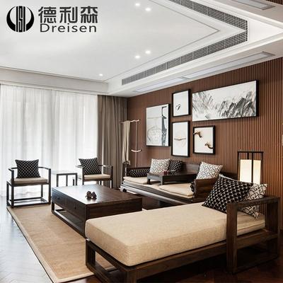 木家具简约沙发网上商城