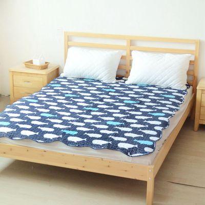 1.5米夹棉床单单件床盖单人绗缝被夏季空调被子学生宿舍床上用品网上专卖店