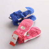 Children's gloves, girls, baby, waterproof skiing, and boys, children, warm, snow, mittens, 2-5 years old
