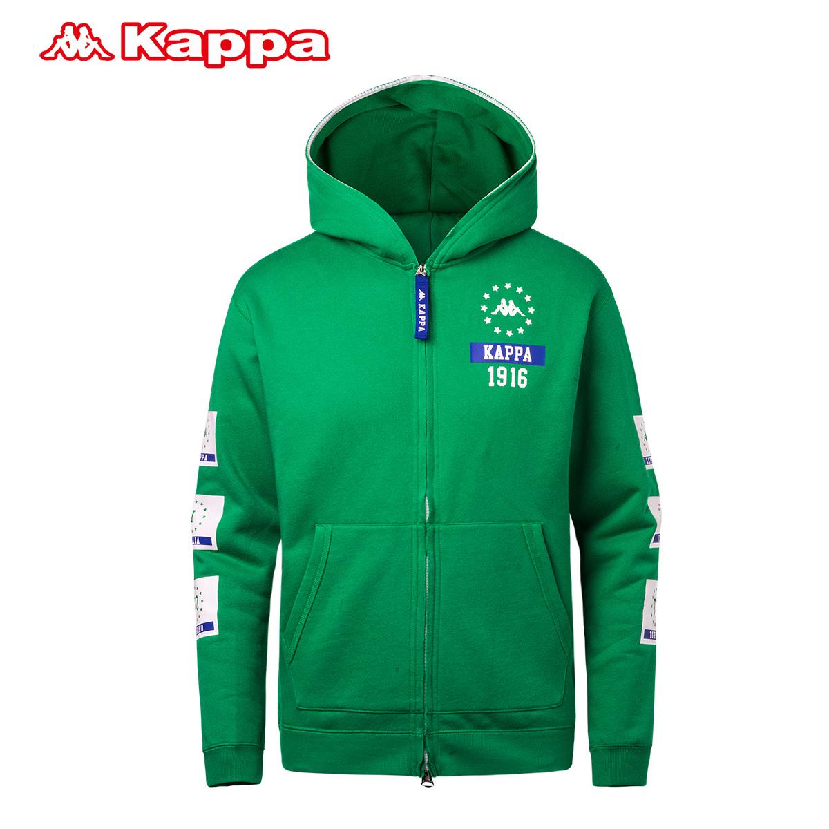 Kappa卡帕 男子运动卫衣运动上衣 休闲帽衫休闲运动装|K0512MK32