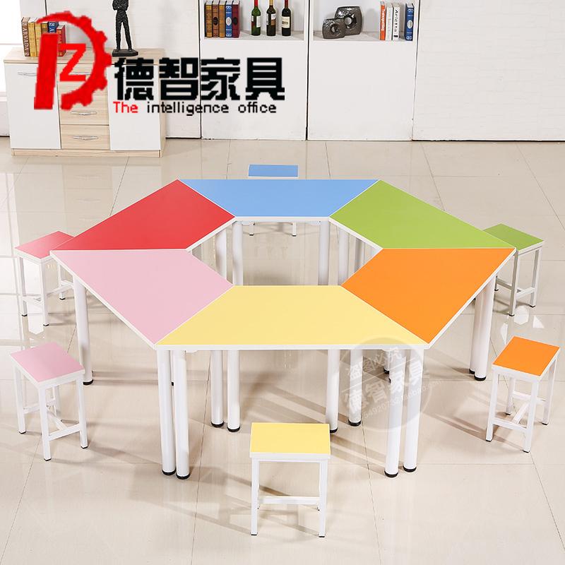 梯形办公桌