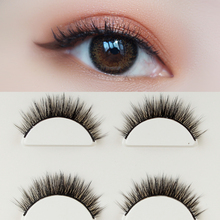 Natural simulation of Japanese hand-made eyelashes with pointed tail