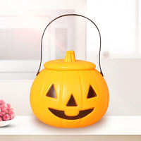 Halloween Ghost Combination Pumpkin Handbag Children's Holiday Gifts Pumpkin Light Bar Mall Decoration Lantern Supplies