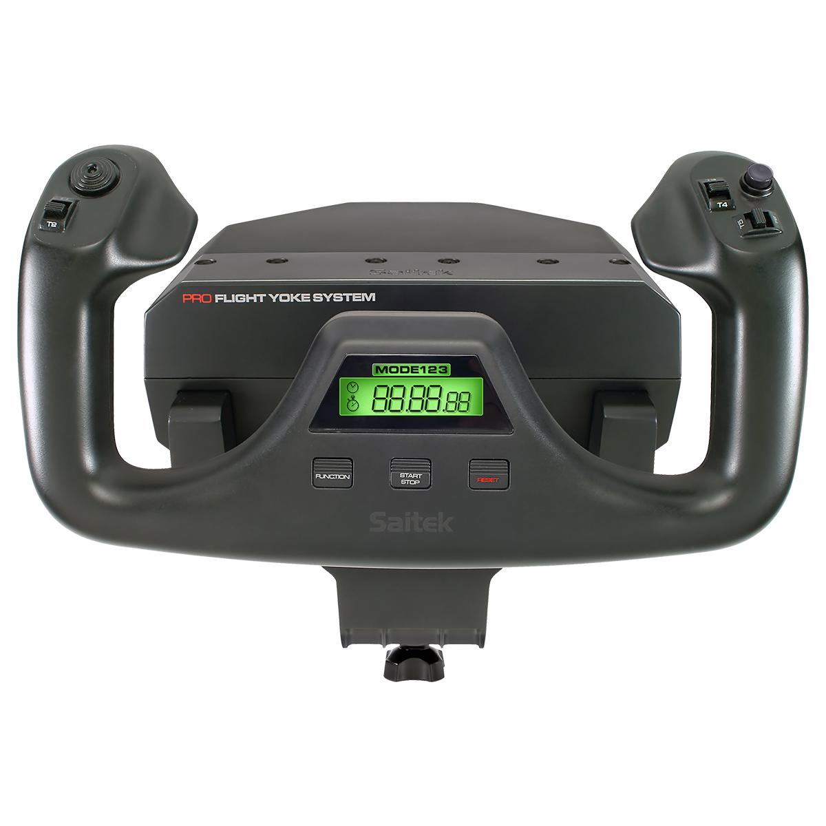 罗技Yoke战争雷霆 微软模拟飞行10游戏摇杆 操纵杆和方向舵赛钛客