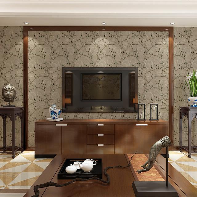 新款欧式 大马士革 墨绿色墙纸 客厅卧室背景墙美式复古壁纸包邮