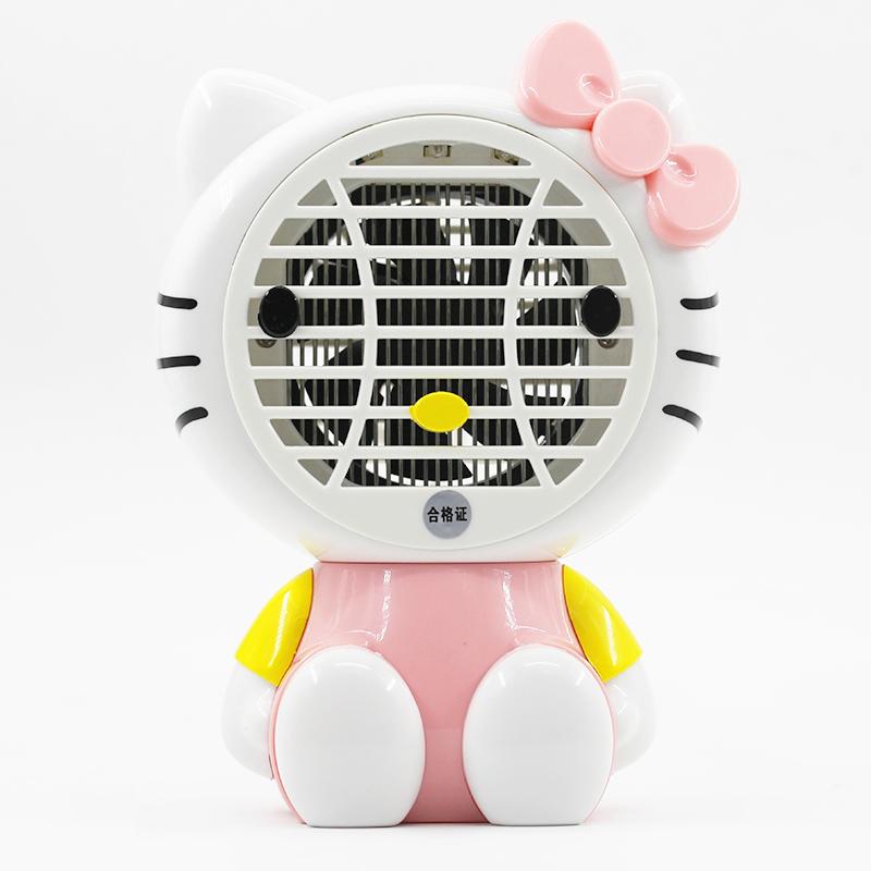 2018夏卡通电击灭蚊灯插电吸入式龙猫物理孕婴创意家用驱蝇神器新