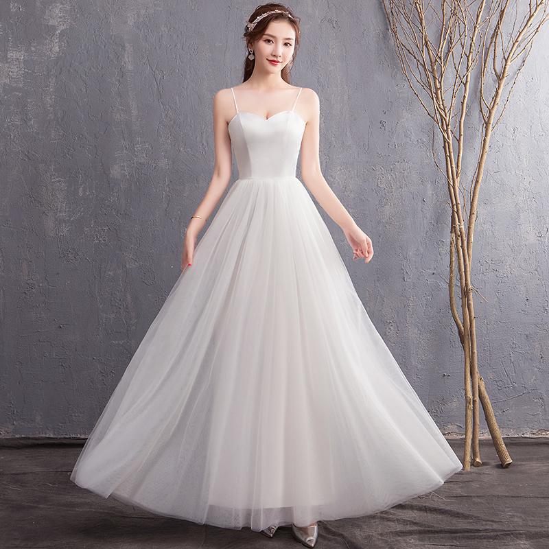 伴娘婚纱礼服裙