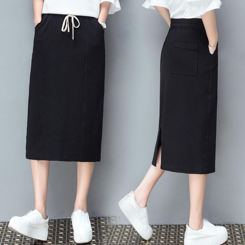 包臀裙弹力针织
