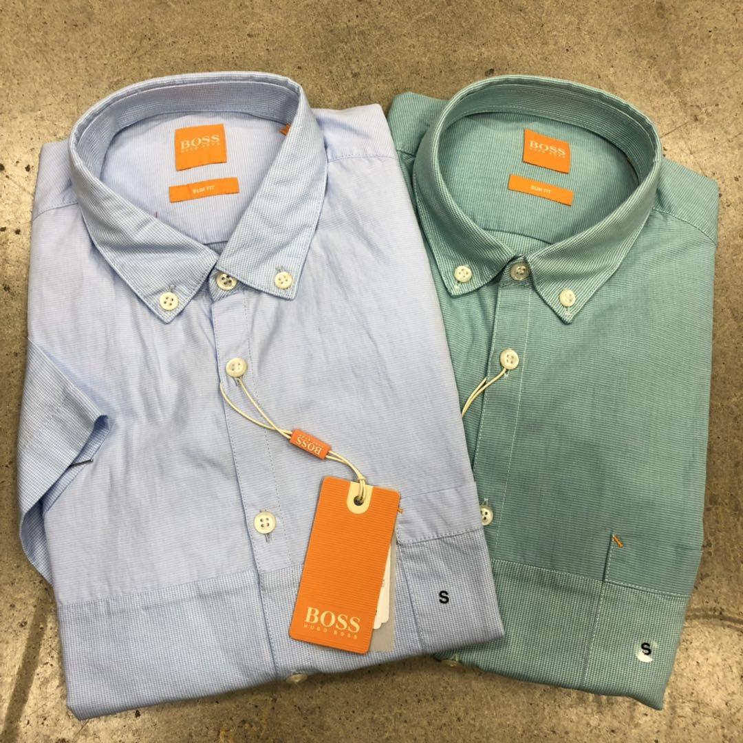 牛X正品 Hugo boss男士新款纯棉slim fit修身款衬衣免烫休闲衬衫