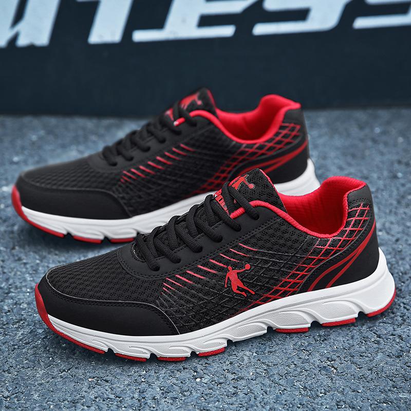 乔丹男鞋新款运动鞋夏季网面透气跑步鞋轻便防滑耐磨旅游鞋学生鞋